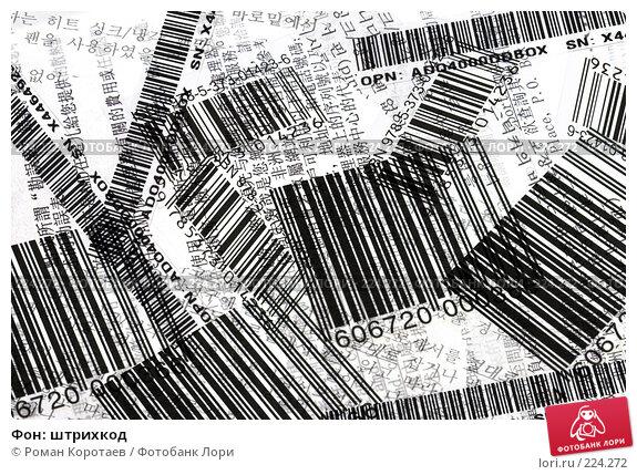 Фон: штрихкод, фото № 224272, снято 16 марта 2008 г. (c) Роман Коротаев / Фотобанк Лори