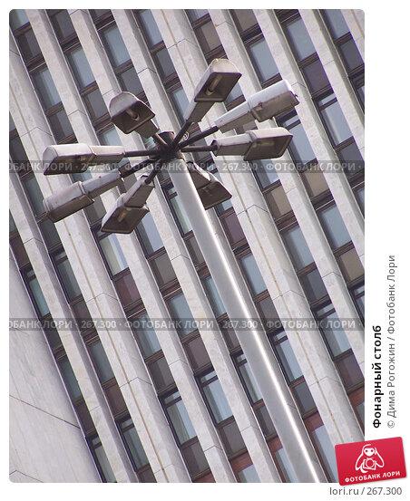 Купить «Фонарный столб», фото № 267300, снято 20 апреля 2008 г. (c) Дима Рогожин / Фотобанк Лори