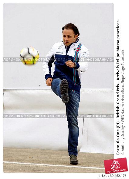 Formula One (F1) - British Grand Prix - Arrivals Felipe Massa practices... (2017 год). Редакционное фото, фотограф Anthony Stanley / WENN.com / age Fotostock / Фотобанк Лори