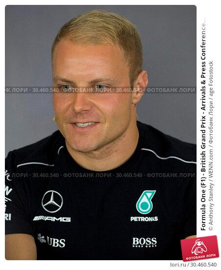 Formula One (F1) - British Grand Prix - Arrivals & Press Conference... (2017 год). Редакционное фото, фотограф Anthony Stanley / WENN.com / age Fotostock / Фотобанк Лори