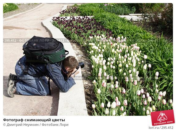 Фотограф снимающий цветы, эксклюзивное фото № 295412, снято 24 апреля 2008 г. (c) Дмитрий Неумоин / Фотобанк Лори