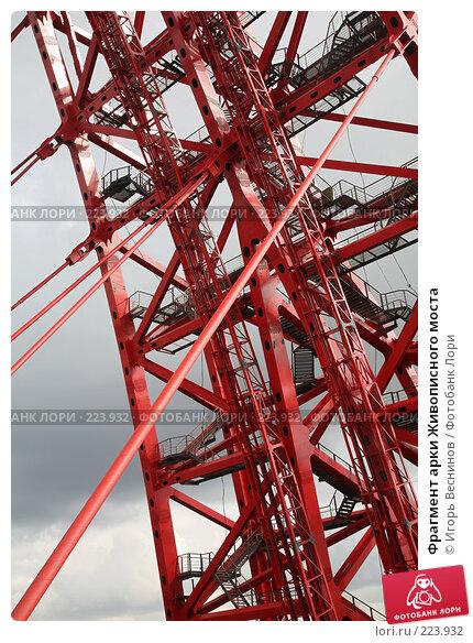 Фрагмент арки Живописного моста, фото № 223932, снято 15 марта 2008 г. (c) Игорь Веснинов / Фотобанк Лори