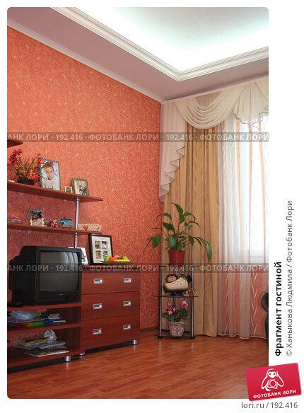 Фрагмент гостиной, фото № 192416, снято 2 февраля 2008 г. (c) Ханыкова Людмила / Фотобанк Лори