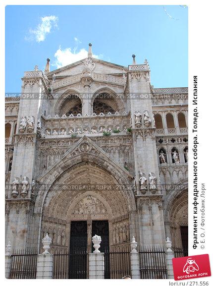 Фрагмент кафедрального собора. Толедо. Испания, фото № 271556, снято 21 апреля 2008 г. (c) Екатерина Овсянникова / Фотобанк Лори
