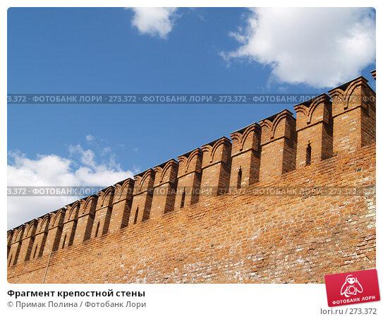 Фрагмент крепостной стены, фото № 273372, снято 26 апреля 2008 г. (c) Примак Полина / Фотобанк Лори
