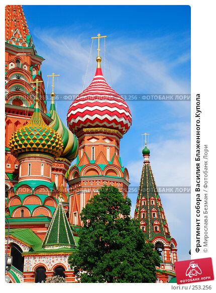 Фрагмент собора Василия Блаженного.Купола, фото № 253256, снято 24 мая 2007 г. (c) Мирослава Безман / Фотобанк Лори