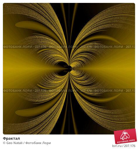 Фрактал, иллюстрация № 207176 (c) Geo Natali / Фотобанк Лори