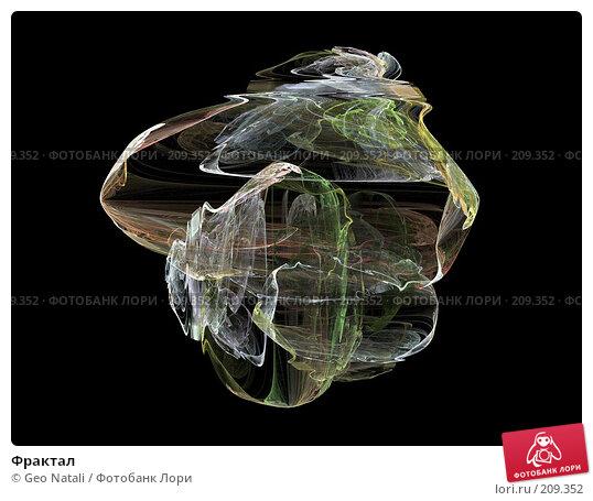 Купить «Фрактал», иллюстрация № 209352 (c) Geo Natali / Фотобанк Лори