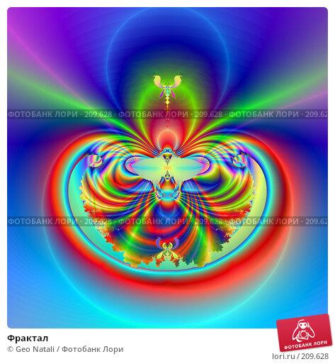 Фрактал, иллюстрация № 209628 (c) Geo Natali / Фотобанк Лори