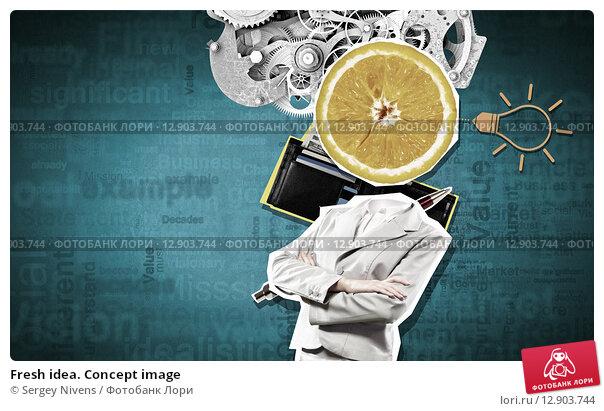 Купить «Fresh idea. Concept image», фото № 12903744, снято 26 марта 2019 г. (c) Sergey Nivens / Фотобанк Лори