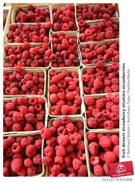 fruit dessert strawberry vitamins strawberries. Стоковое фото, фотограф Bernhard Richter / PantherMedia / Фотобанк Лори