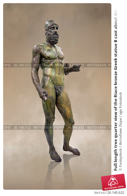 an examination of the riace bronze statue a and b Legacy image main entry sc, greek, high classical work title sc, greek, high classical view title riace warriors a and b.