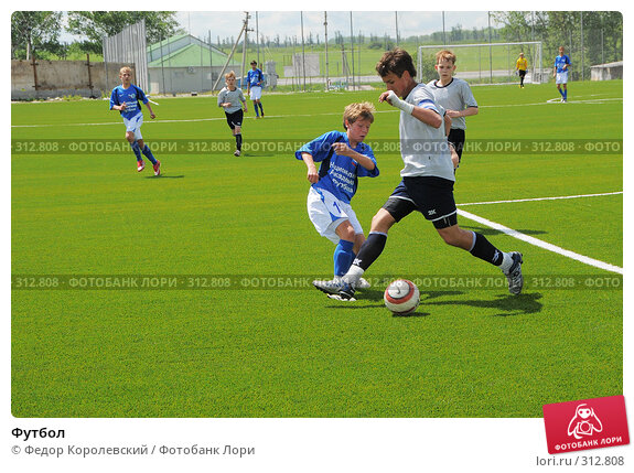 Футбол, фото № 312808, снято 3 июня 2008 г. (c) Федор Королевский / Фотобанк Лори