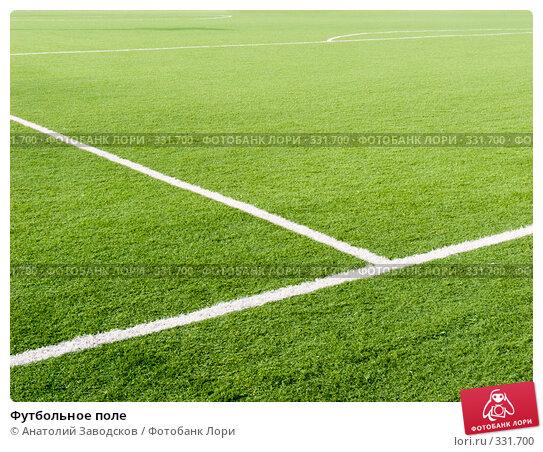 Футбольное поле, фото № 331700, снято 17 октября 2007 г. (c) Анатолий Заводсков / Фотобанк Лори