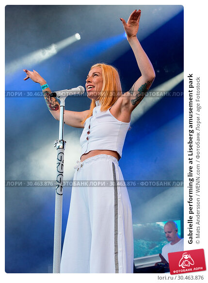 Gabrielle performing live at Liseberg amusement park (2017 год). Редакционное фото, фотограф Mats Andersson / WENN.com / age Fotostock / Фотобанк Лори