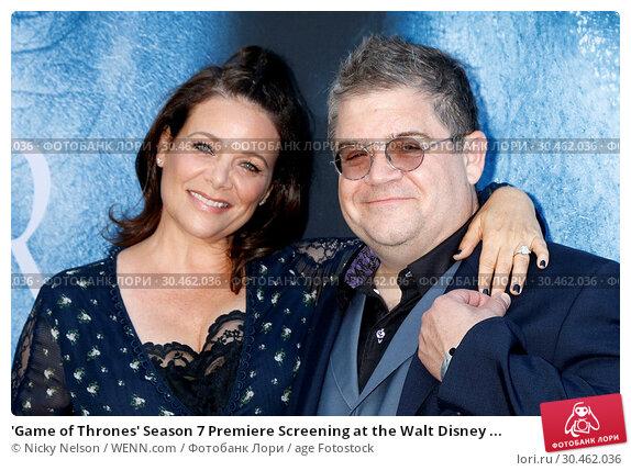 'Game of Thrones' Season 7 Premiere Screening at the Walt Disney ... (2017 год). Редакционное фото, фотограф Nicky Nelson / WENN.com / age Fotostock / Фотобанк Лори