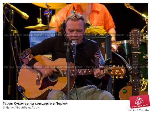 Гарик Сукачев на концерте в Перми, фото № 252344, снято 8 декабря 2016 г. (c) Harry / Фотобанк Лори