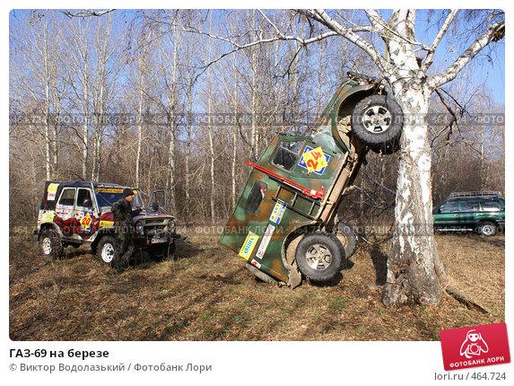 Купить «ГАЗ-69 на березе», фото № 464724, снято 11 ноября 2007 г. (c) Виктор Водолазький / Фотобанк Лори