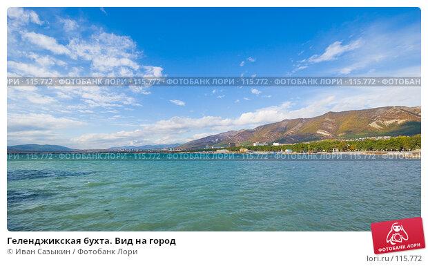 Геленджикская бухта. Вид на город, фото № 115772, снято 15 октября 2007 г. (c) Иван Сазыкин / Фотобанк Лори