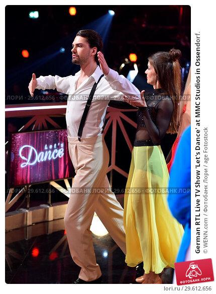 Купить «German RTL Live TV Show 'Let's Dance' at MMC Studios in Ossendorf. Featuring: Jimi Blue Ochsenknecht, Renata Lusin Where: Cologne, Germany When: 16 Mar 2018 Credit: WENN.com», фото № 29612656, снято 16 марта 2018 г. (c) age Fotostock / Фотобанк Лори