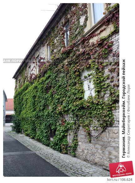 Германия. Майнбернхейм. Городской пейзаж, фото № 106624, снято 13 июля 2007 г. (c) Александр Секретарев / Фотобанк Лори