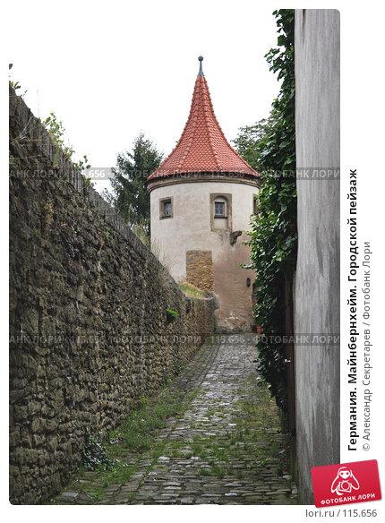 Купить «Германия. Майнбернхейм. Городской пейзаж», фото № 115656, снято 13 июля 2007 г. (c) Александр Секретарев / Фотобанк Лори
