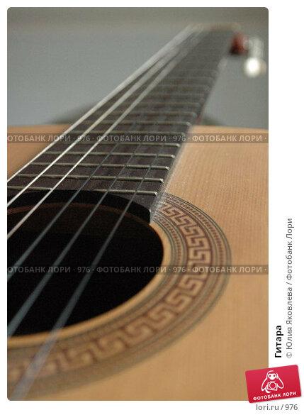 Гитара, фото № 976, снято 25 февраля 2006 г. (c) Юлия Яковлева / Фотобанк Лори