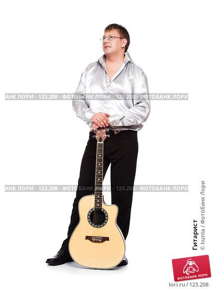 Гитарист, фото № 123208, снято 5 августа 2007 г. (c) hunta / Фотобанк Лори