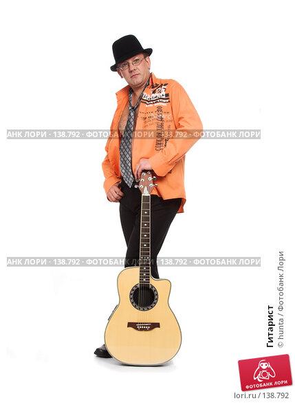 Купить «Гитарист», фото № 138792, снято 5 августа 2007 г. (c) hunta / Фотобанк Лори