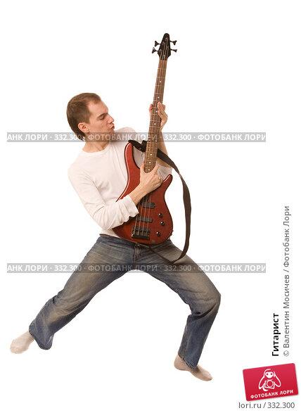 Гитарист, фото № 332300, снято 2 мая 2008 г. (c) Валентин Мосичев / Фотобанк Лори