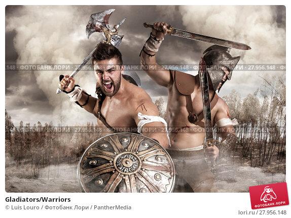 Купить «Gladiators/Warriors», фото № 27956148, снято 5 июля 2020 г. (c) PantherMedia / Фотобанк Лори