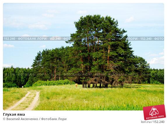 Глухая яма, фото № 152240, снято 11 июня 2007 г. (c) Василий Аксюченко / Фотобанк Лори