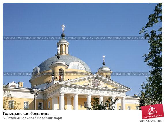 Голицынская больница, эксклюзивное фото № 285300, снято 29 апреля 2008 г. (c) Наталья Волкова / Фотобанк Лори