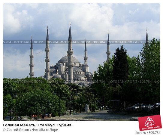 Голубая мечеть. Стамбул. Турция., фото № 305784, снято 5 мая 2008 г. (c) Сергей Лисов / Фотобанк Лори