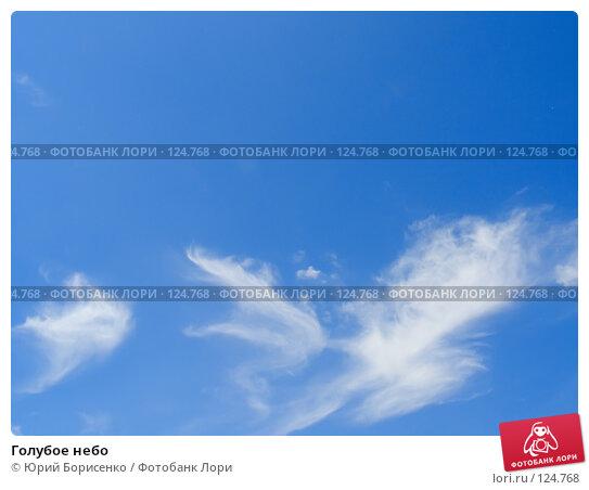 Голубое небо, фото № 124768, снято 7 июня 2007 г. (c) Юрий Борисенко / Фотобанк Лори