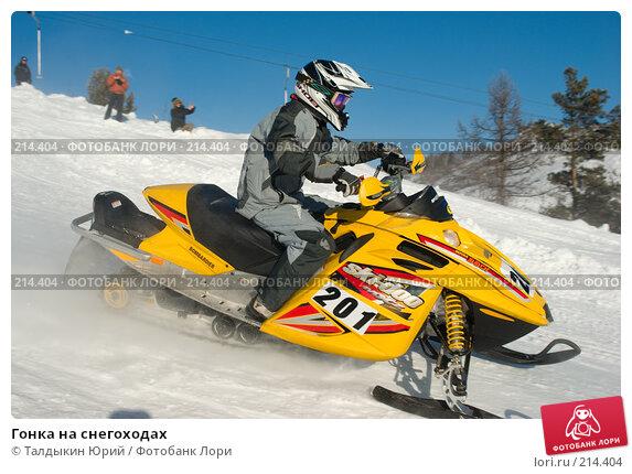 Гонка на снегоходах, фото № 214404, снято 20 января 2008 г. (c) Талдыкин Юрий / Фотобанк Лори