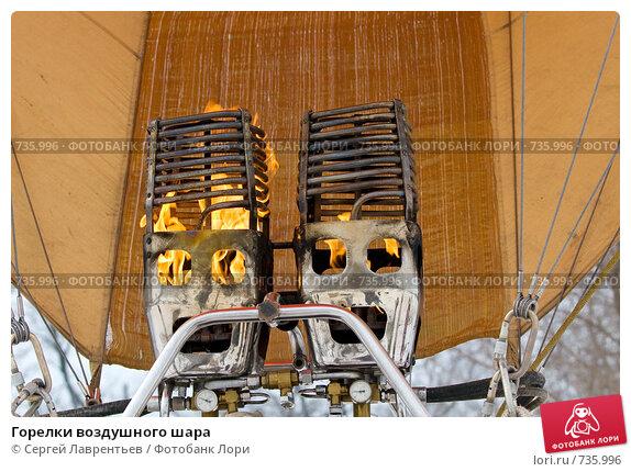 Купить «Горелки воздушного шара», фото № 735996, снято 1 марта 2009 г. (c) Сергей Лаврентьев / Фотобанк Лори