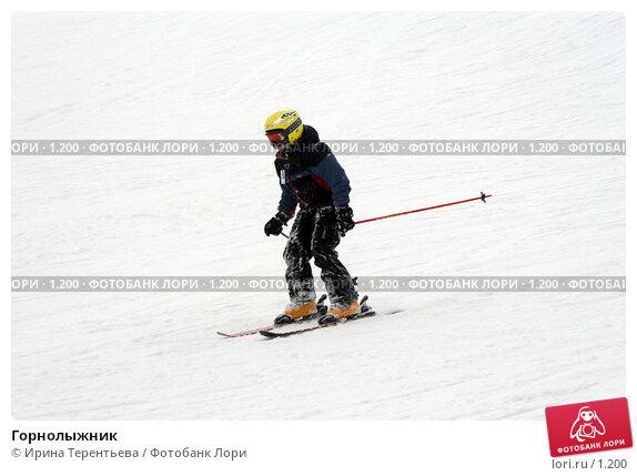 Горнолыжник, эксклюзивное фото № 1200, снято 22 февраля 2006 г. (c) Ирина Терентьева / Фотобанк Лори