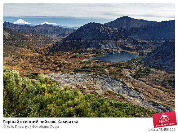 Горный осенний пейзаж. Камчатка, фото № 6456224, снято 28 сентября 2014 г. (c) А. А. Пирагис / Фотобанк Лори