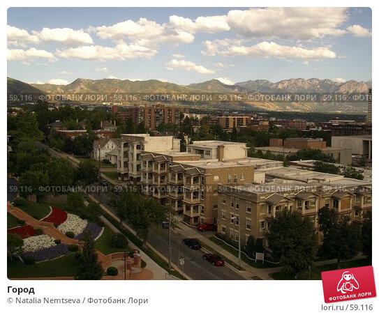 Город, эксклюзивное фото № 59116, снято 9 августа 2006 г. (c) Natalia Nemtseva / Фотобанк Лори