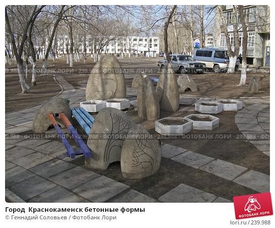 Город  Краснокаменск бетонные формы, фото № 239988, снято 1 апреля 2008 г. (c) Геннадий Соловьев / Фотобанк Лори