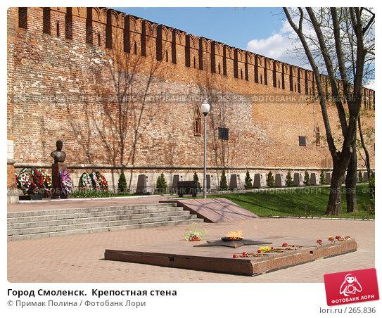 Город Смоленск.  Крепостная стена, фото № 265836, снято 26 апреля 2008 г. (c) Примак Полина / Фотобанк Лори
