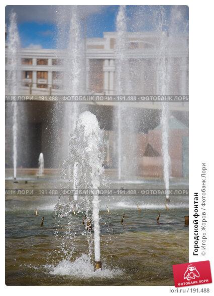 Городской фонтан, фото № 191488, снято 10 августа 2007 г. (c) Игорь Жоров / Фотобанк Лори