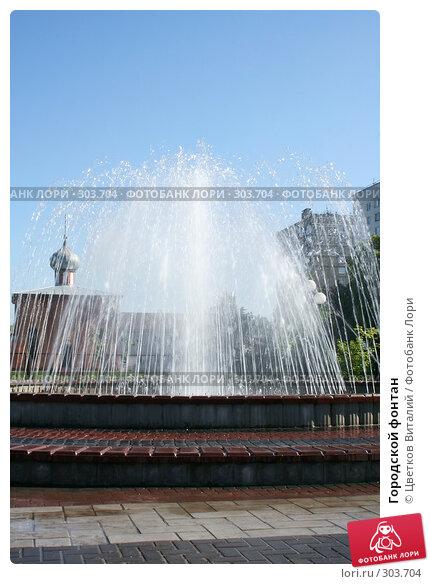Городской фонтан, фото № 303704, снято 30 мая 2008 г. (c) Цветков Виталий / Фотобанк Лори