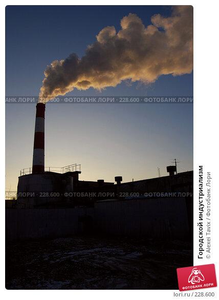 Городской индустриализм, эксклюзивное фото № 228600, снято 8 января 2008 г. (c) Alexei Tavix / Фотобанк Лори