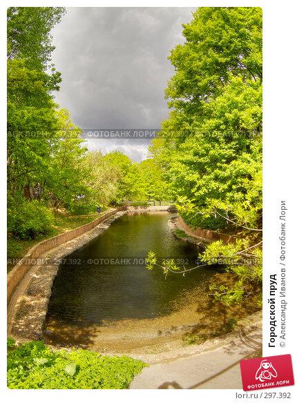 Купить «Городской пруд», фото № 297392, снято 21 мая 2018 г. (c) Александр Иванов / Фотобанк Лори