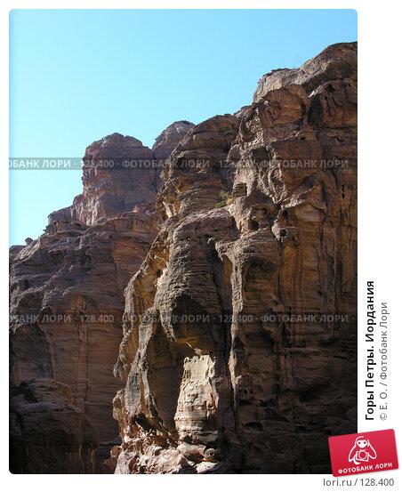 Горы Петры. Иордания, фото № 128400, снято 25 ноября 2007 г. (c) Екатерина Овсянникова / Фотобанк Лори