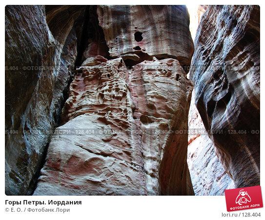 Горы Петры. Иордания, фото № 128404, снято 25 ноября 2007 г. (c) Екатерина Овсянникова / Фотобанк Лори