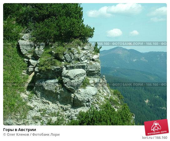 Купить «Горы в Австрии», фото № 166160, снято 2 августа 2007 г. (c) Олег Кленов / Фотобанк Лори