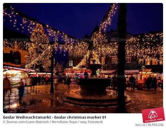 Goslar Weihnachtsmarkt - Goslar christmas market 01. Стоковое фото, фотограф Zoonar.com/Liane Matrisch / easy Fotostock / Фотобанк Лори